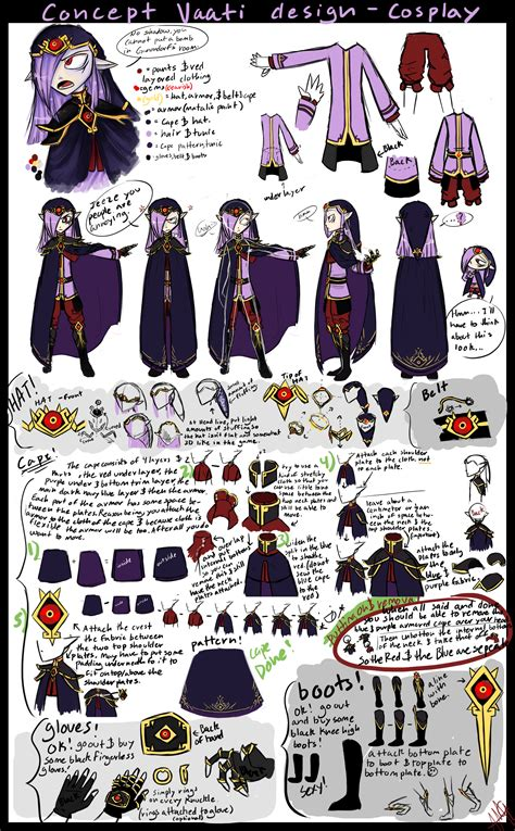 game concept design jobs vaati concept design cosplay layout tutorial tips by