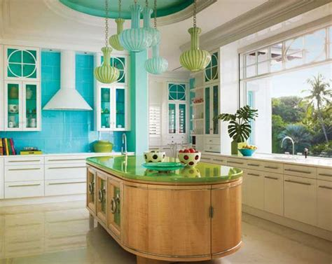 kitchen bright pin of the week colorful kitchen tropic home