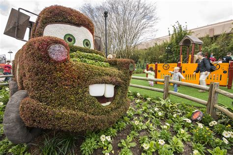 Epcot Flower Garden Epcot International Flower Garden Festival 2016 New And Expanded