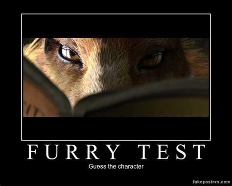 Furry Meme - furry test furries know your meme