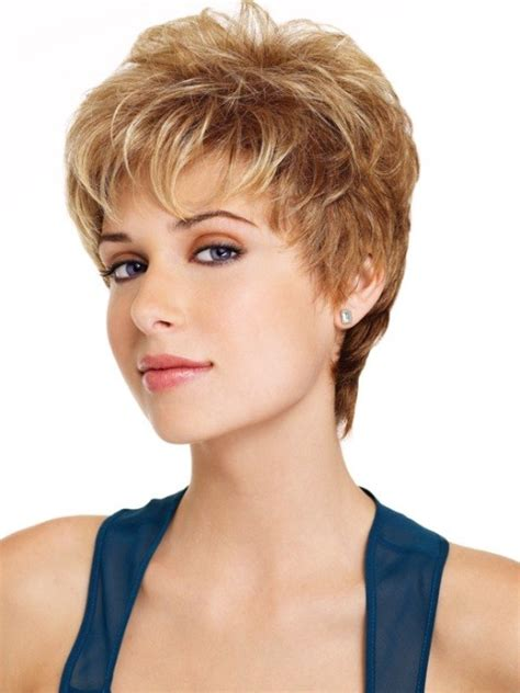 short hair and hearing aids short hair wig for women with thin hair synthetic wigs