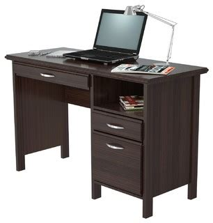 inval credenza computer workstation desk with hutch inval soft form computer desk wengue desks and