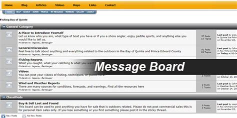 Message Board image gallery message board