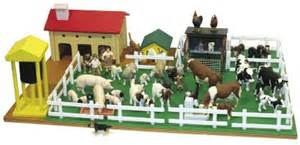 Montessori Materials Montessori Farm Set With Farm Animals