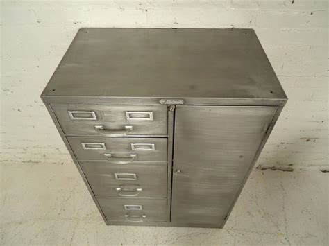 Industrial File Cabinet Industrial Metal File Cabinet At 1stdibs
