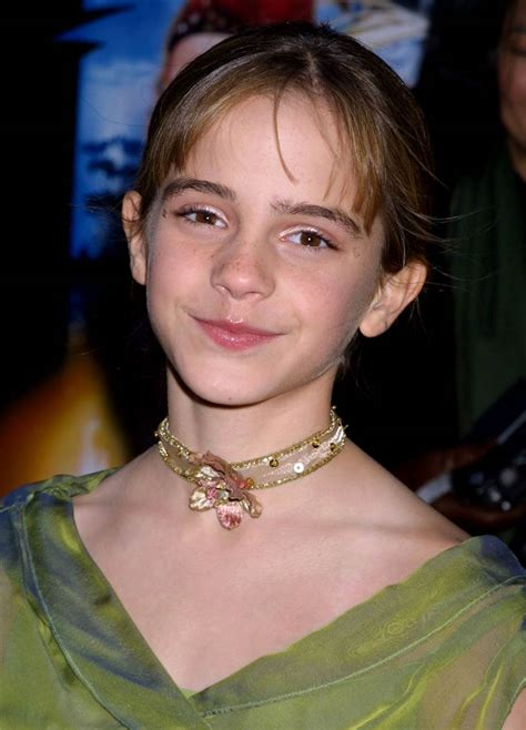 Hermione Granger Age 11 by Watson Reacts To Dress She Wore To Harry Potter