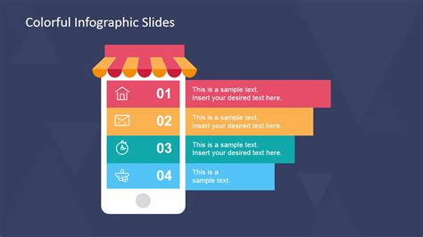 slides template for powerpoint free colorful infographic slides for powerpoint slidemodel