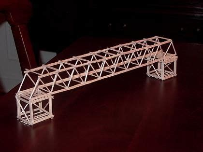strongest toothpick bridge how to make a bridges