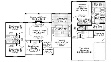 ranch style floor plans 3000 sq ft 3000 sq ft house 3000 sq ft ranch house plans 30000