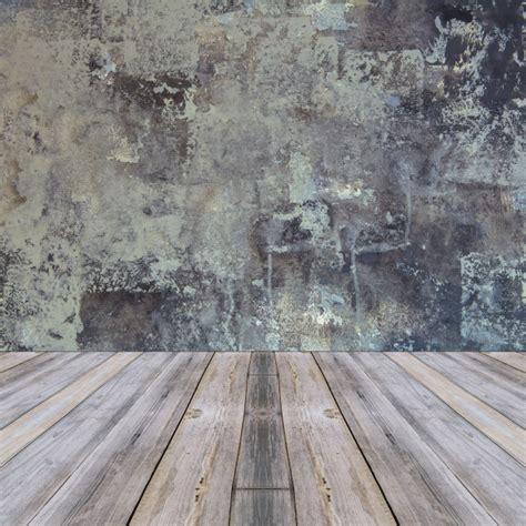 piso madera gris habitaci 243 n interior vintage con pared gris y fondo de piso