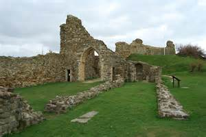 Curtain Wall On A Castle Great Castles Legends The Ghosts Of Hastings Castle