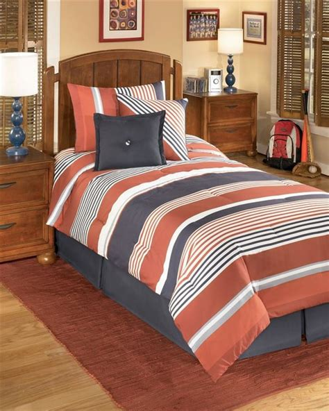 striped comforter twin striped youth comforter bedding set twin contemporary