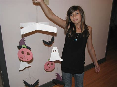 halloween hanging mobile project hacked gadgets diy