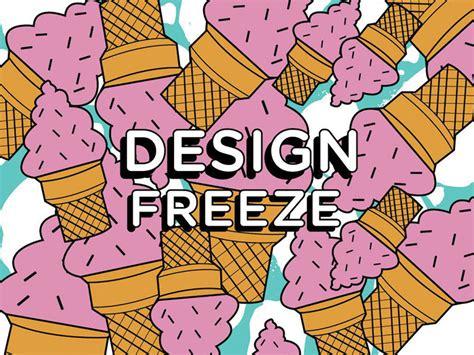 Design Freeze   design freeze by laci jordan dribbble