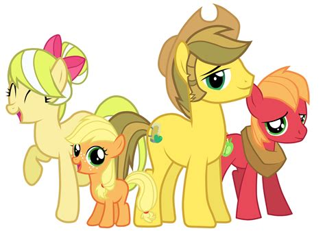 imagenes de applejack apple family my little pony friendship is magic know