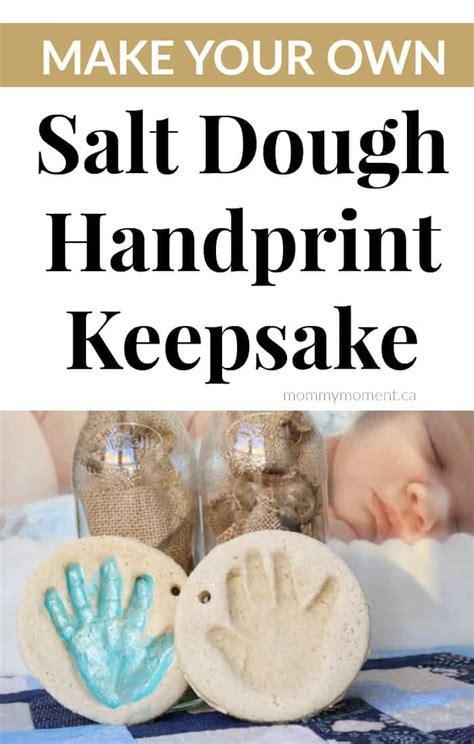 how to make a salt l no bake salt dough handprint
