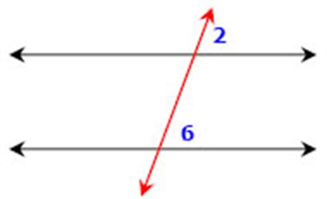 Same Side Interior Angles by Parallel Lines Transversals And All Of The Corresponding