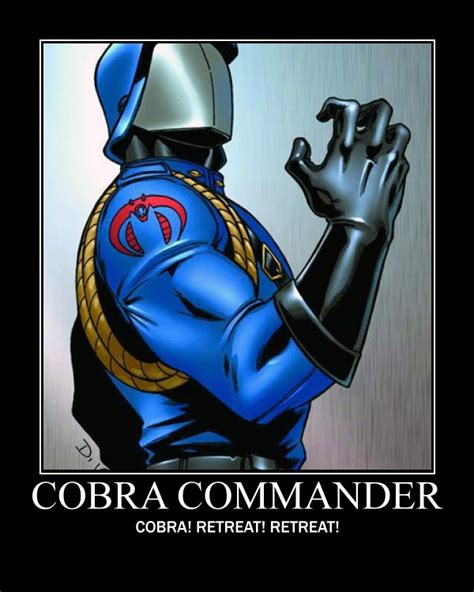 Cobra Commander Meme - panel by panel october 2010