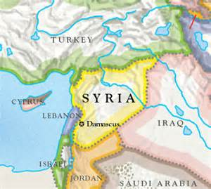 Turkey Syria Map by Foreign Confidential November 2011