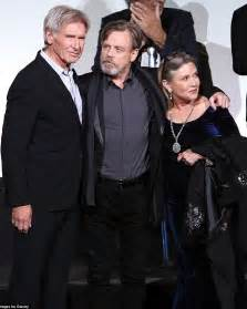 end harrison ford harrison ford and hamill jet into los angeles after