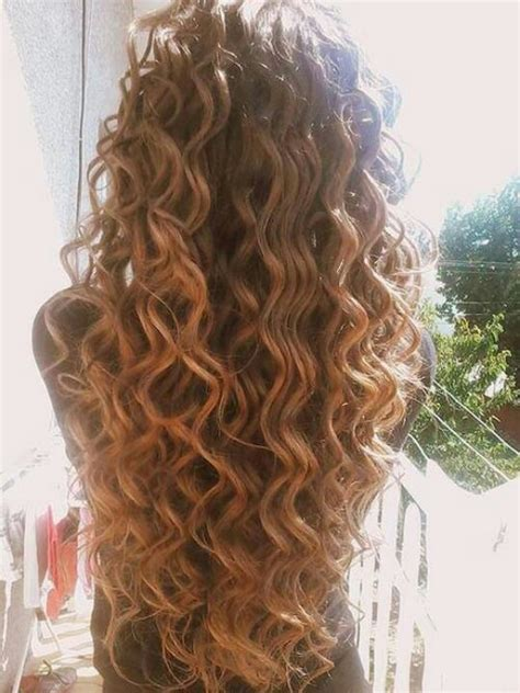 Mermaid Perm | beautiful long curly quot mermaid quot hair all about the hair