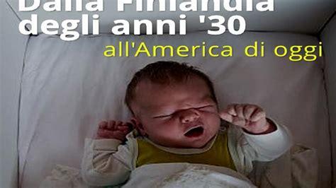 morti in culla neonati in scatola la ricetta finlandese contro le morti