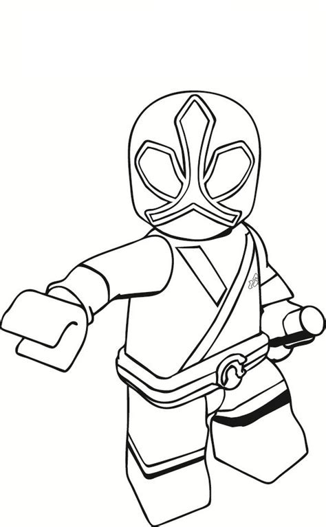 power rangers samurai coloring pages red power ranger printable coloring pages zach attack