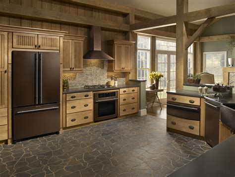 Kitchen and Residential Design: Jenn Air's new finish, Oiled Bronze