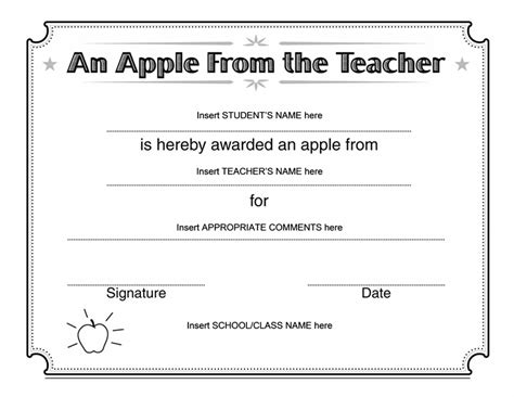 templates for certificates for mac templates certificates apple from teacher certificate