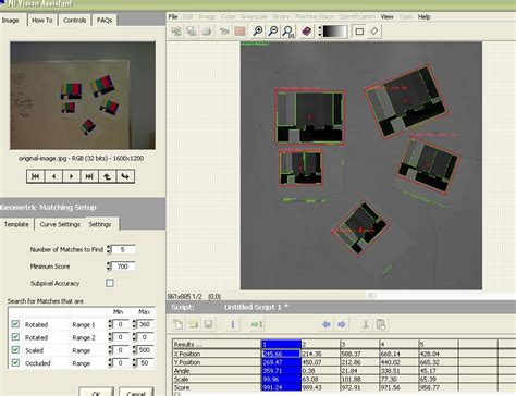geometric pattern matching labview solved scale invariant geometric pattern matching error