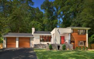 split level exterior renovation contemporary exterior dc metro by wentworth inc