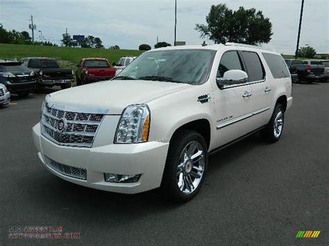 2012 Cadillac Escalade Esv Platinum by 2012 Cadillac Escalade Esv Platinum Awd In White