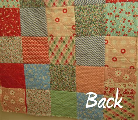 rag quilt quilting in the