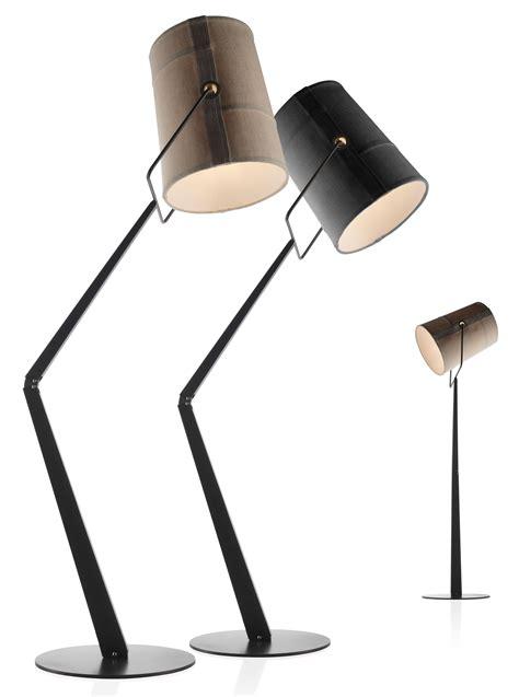 Designer Bathroom Accessories Fork Floor Lamp Grey Brown Base By Diesel With Foscarini