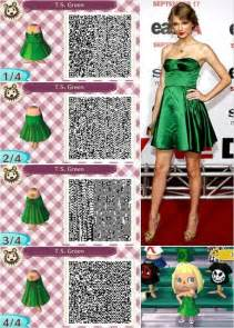 Taylor swift dress design by peanut fashions for animal crossing new