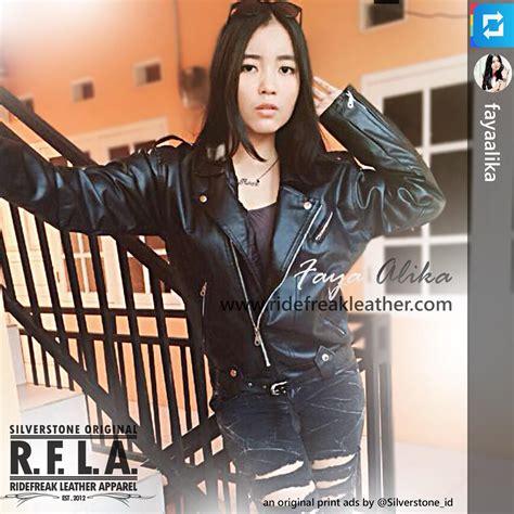 Silverstone Rfla Original Merah Jaket Kulit Wanita Diskon jual jaket kulit rock n roll slimfit model wanita baru