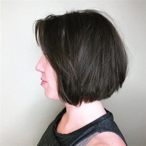 pictures of chin length bobs in ponytails 25 chin length bob hairstyles that will stun you 2018 trends