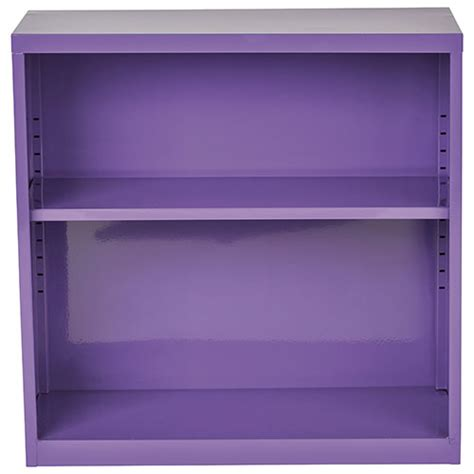 28 quot 1 shelf bookcase purple bookcases shelving