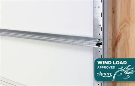 wind load garage doors hillcrest series garage doors a b edward enterprises