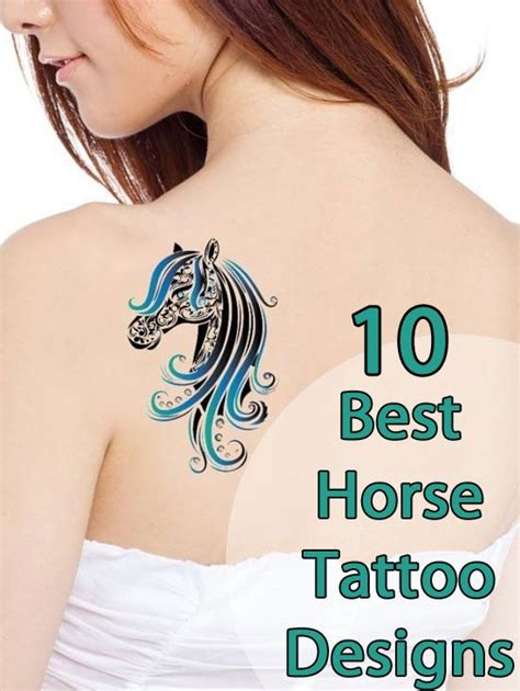 small horse tattoo designs best tattoos our top 10 and tatting