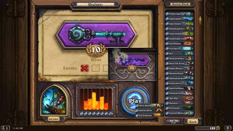 shaman arena deck 12 win arena decks hearthstone heroes of warcraft