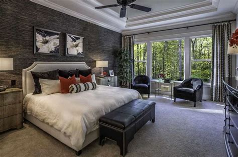 accent wall in master bedroom 27 jaw dropping black bedrooms design ideas designing idea