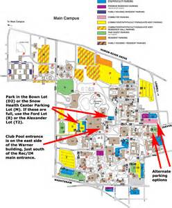 Eastern Michigan Campus Map by Eastern Michigan University The Detailed Map Click The