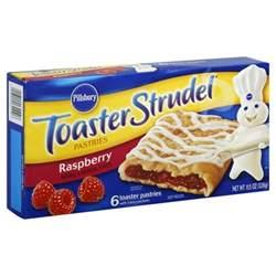 Toaster Strudel Instructions Pillsbury Toaster Strudel Raspberry 6 Ct