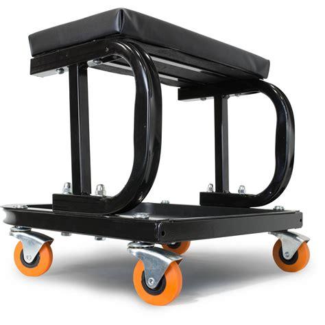 Rolling Work Stool Seat rolling work seat garage mechanics stool tool rolling shop