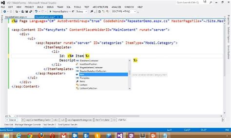 improvements to asp net web forms asp net blog visual studio 2012 and net framework 4 5 is released