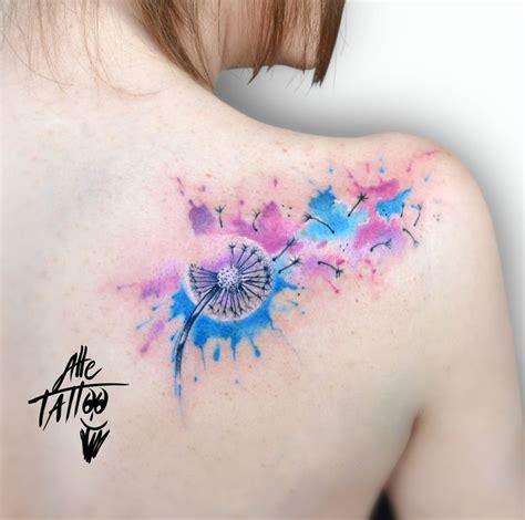 tatuaggio fiore soffione 193 migliori immagini su