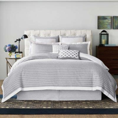 real simple bedding buy white stripe solid duvet covers from bed bath beyond