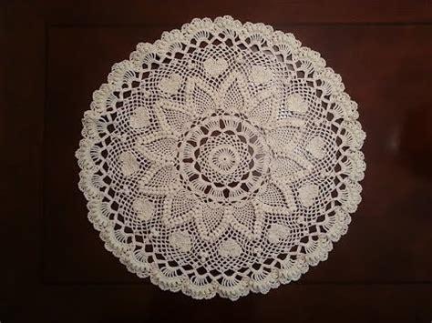 Diy Doily L by Crochet Doily Pineapple Doily Part 6