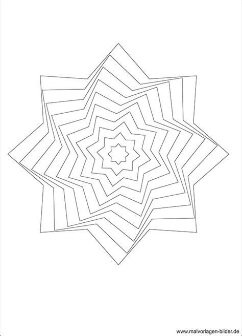 Mosaik Muster Vorlagen Drucken 3d Gratis Ausmalbild